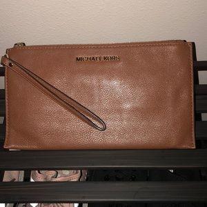 Michael Kors Leather Wristlet